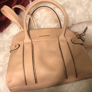 Big Buddha blush pink purse